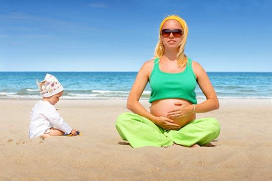Беременность летом: полезные советы
